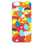 Bear Umbrella Apple iPhone 5 Seamless Case (White) Front