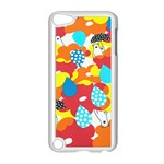 Bear Umbrella Apple iPod Touch 5 Case (White) Front