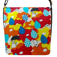 Bear Umbrella Flap Messenger Bag (s)
