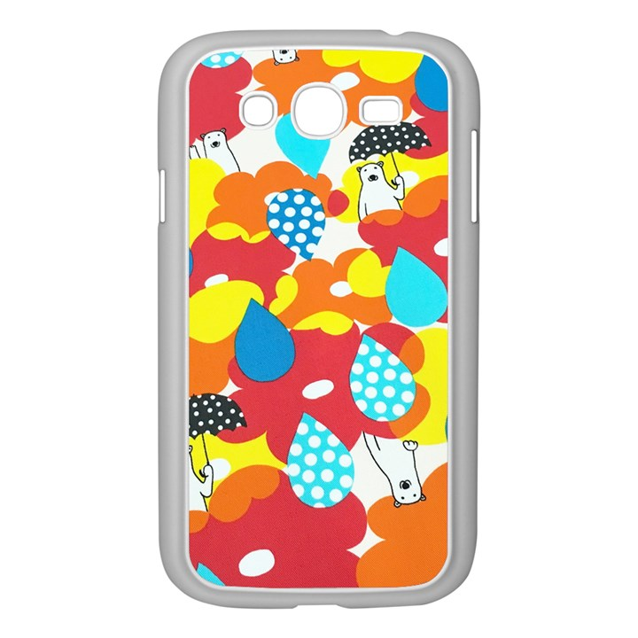 Bear Umbrella Samsung Galaxy Grand DUOS I9082 Case (White)