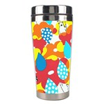 Bear Umbrella Stainless Steel Travel Tumblers Center
