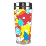 Bear Umbrella Stainless Steel Travel Tumblers Right