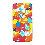 Bear Umbrella Samsung Galaxy S4 I9500/I9505  Hardshell Back Case