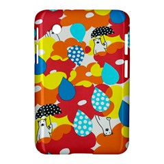 Bear Umbrella Samsung Galaxy Tab 2 (7 ) P3100 Hardshell Case