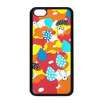 Bear Umbrella Apple iPhone 5C Seamless Case (Black)