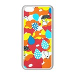 Bear Umbrella Apple iPhone 5C Seamless Case (White) Front