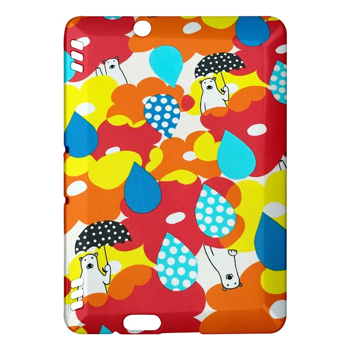 Bear Umbrella Kindle Fire HDX Hardshell Case