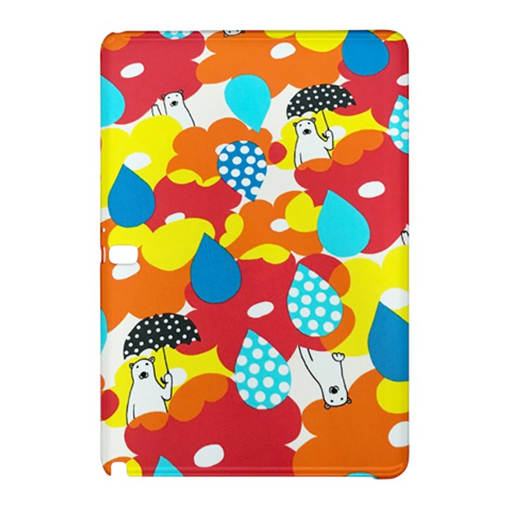 Bear Umbrella Samsung Galaxy Tab Pro 10.1 Hardshell Case