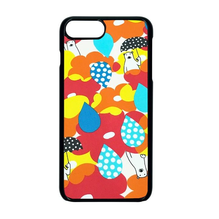 Bear Umbrella Apple iPhone 7 Plus Seamless Case (Black)