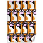 Cute Cat Hand Orange Canvas 12  x 18   18 x12 Canvas - 1