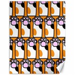 Cute Cat Hand Orange Canvas 18  x 24   24 x18 Canvas - 1