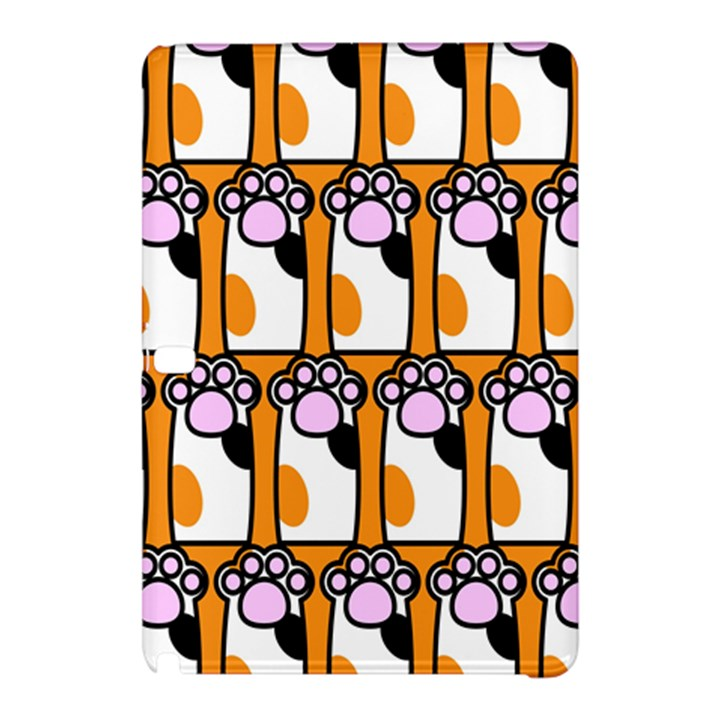 Cute Cat Hand Orange Samsung Galaxy Tab Pro 12.2 Hardshell Case