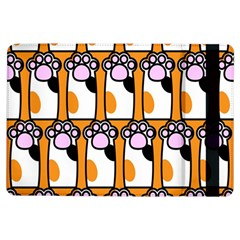 Cute Cat Hand Orange Ipad Air Flip by AnjaniArt