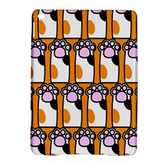 Cute Cat Hand Orange Ipad Air 2 Hardshell Cases by AnjaniArt