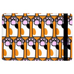 Cute Cat Hand Orange Ipad Air 2 Flip by AnjaniArt