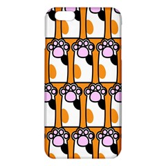 Cute Cat Hand Orange Iphone 6 Plus/6s Plus Tpu Case