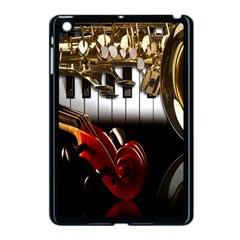Classical Music Instruments Apple Ipad Mini Case (black) by AnjaniArt