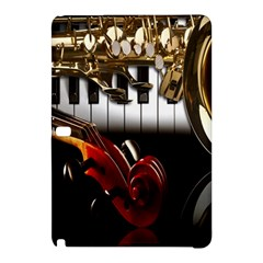 Classical Music Instruments Samsung Galaxy Tab Pro 10 1 Hardshell Case by AnjaniArt