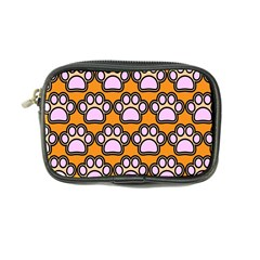 Dog Foot Orange Soles Feet Coin Purse by AnjaniArt