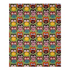 Eye Owl Colorful Cute Animals Bird Copy Shower Curtain 60  X 72  (medium)  by AnjaniArt