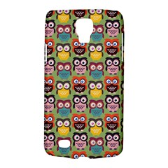 Eye Owl Colorful Cute Animals Bird Copy Galaxy S4 Active by AnjaniArt