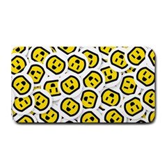 Face Smile Yellow Copy Medium Bar Mats