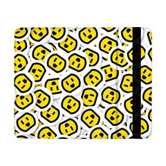 Face Smile Yellow Copy Samsung Galaxy Tab Pro 8.4  Flip Case by AnjaniArt