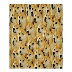 Face Cute Dog Shower Curtain 60  X 72  (medium)  by AnjaniArt
