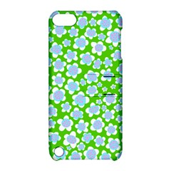Flower Green Copy Apple iPod Touch 5 Hardshell Case with Stand