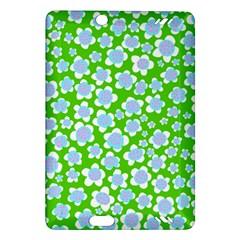Flower Green Copy Amazon Kindle Fire Hd (2013) Hardshell Case by AnjaniArt