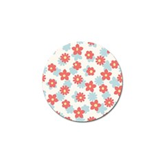 Flower Pink Golf Ball Marker (4 Pack) by AnjaniArt