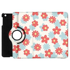Flower Pink Apple Ipad Mini Flip 360 Case by AnjaniArt