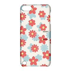 Flower Pink Apple Ipod Touch 5 Hardshell Case With Stand by AnjaniArt