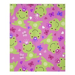 Frog Princes Shower Curtain 60  X 72  (medium)  by AnjaniArt