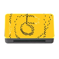 Yellow Soles Of The Feet Memory Card Reader With Cf by AnjaniArt