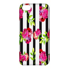 Flower Rose Apple Iphone 5c Hardshell Case by AnjaniArt