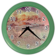 Sunrise Color Wall Clocks by theunrulyartist