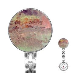 Sunrise Stainless Steel Nurses Watch by theunrulyartist