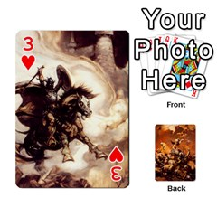 Baraja Frazetta By Fran Xab   Playing Cards 54 Designs   Qmfnhc5m5vwg   Www Artscow Com Front - Heart3