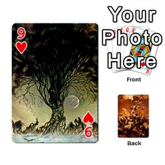 Baraja Frazetta By Fran Xab   Playing Cards 54 Designs   Qmfnhc5m5vwg   Www Artscow Com Front - Heart9