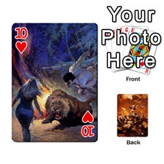 Baraja Frazetta By Fran Xab   Playing Cards 54 Designs   Qmfnhc5m5vwg   Www Artscow Com Front - Heart10