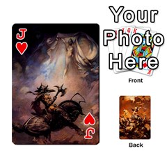 Jack Baraja Frazetta By Fran Xab   Playing Cards 54 Designs   Qmfnhc5m5vwg   Www Artscow Com Front - HeartJ