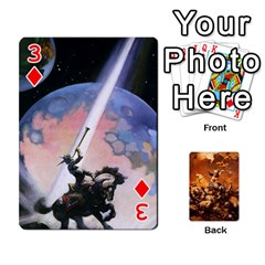 Baraja Frazetta By Fran Xab   Playing Cards 54 Designs   Qmfnhc5m5vwg   Www Artscow Com Front - Diamond3