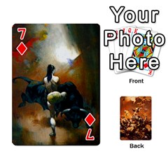 Baraja Frazetta By Fran Xab   Playing Cards 54 Designs   Qmfnhc5m5vwg   Www Artscow Com Front - Diamond7
