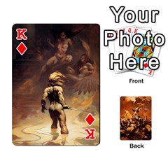 King Baraja Frazetta By Fran Xab   Playing Cards 54 Designs   Qmfnhc5m5vwg   Www Artscow Com Front - DiamondK
