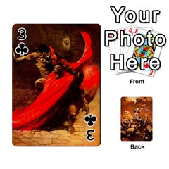 Baraja Frazetta By Fran Xab   Playing Cards 54 Designs   Qmfnhc5m5vwg   Www Artscow Com Front - Club3