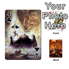 Baraja Frazetta By Fran Xab   Playing Cards 54 Designs   Qmfnhc5m5vwg   Www Artscow Com Front - Club4