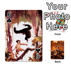 Baraja Frazetta By Fran Xab   Playing Cards 54 Designs   Qmfnhc5m5vwg   Www Artscow Com Front - Club6