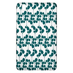Flower Tree Blue Samsung Galaxy Tab Pro 8 4 Hardshell Case by AnjaniArt