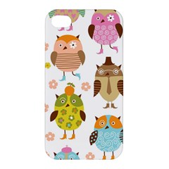 Highres Owls Apple iPhone 4/4S Premium Hardshell Case
